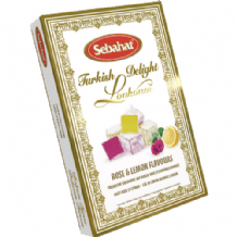 Sebahat Rose & Lemon Flavour Turkish Delight 240g